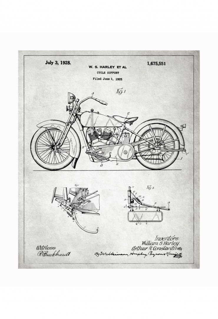 harley blueprints