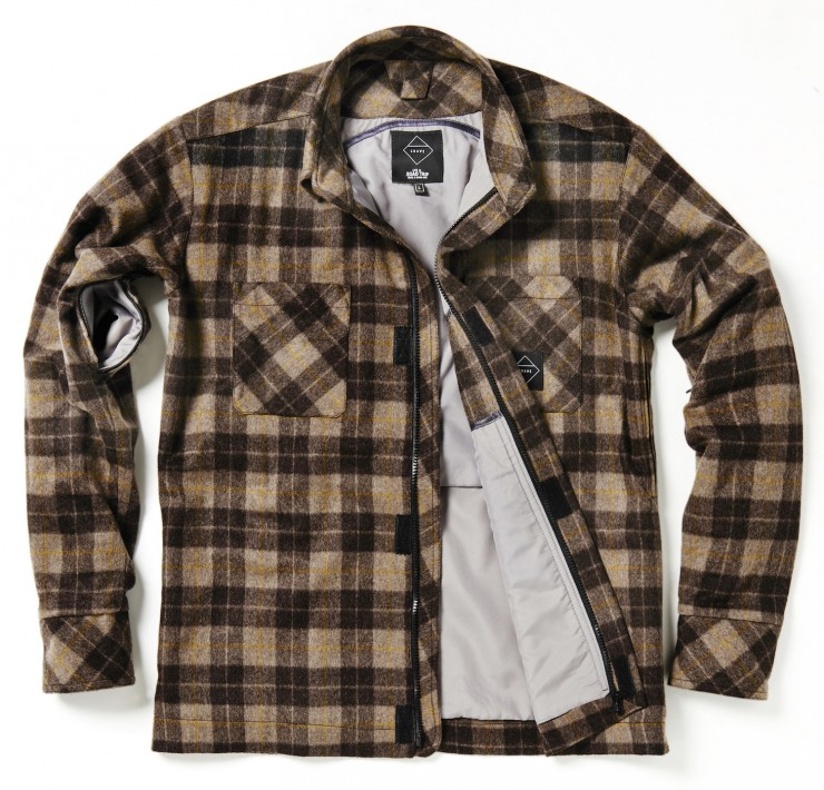 kevlar motorcycle flannel shirt