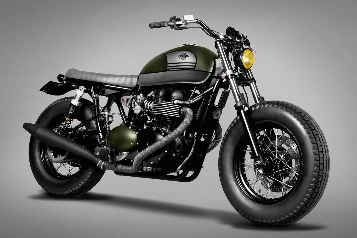 Triumph bonneville custom by ton up garage - Garage peugeot bonneville ...
