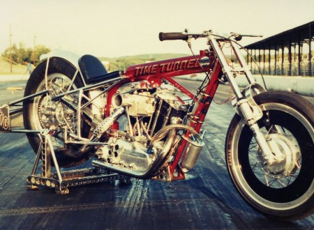 v-twin drag bike