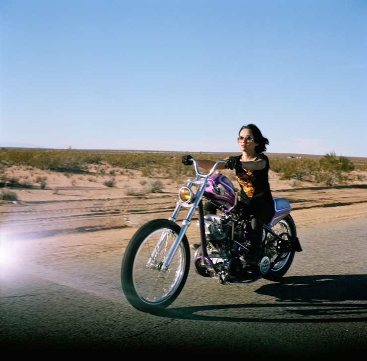 woman on motorcycle 4