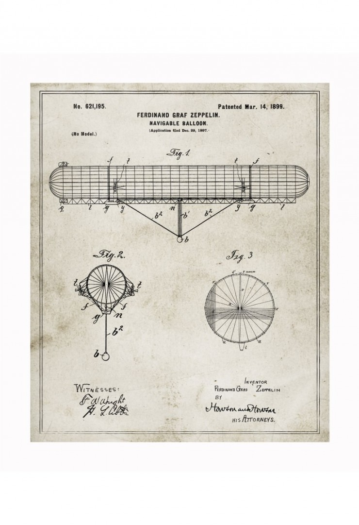 zeppelin blueprints