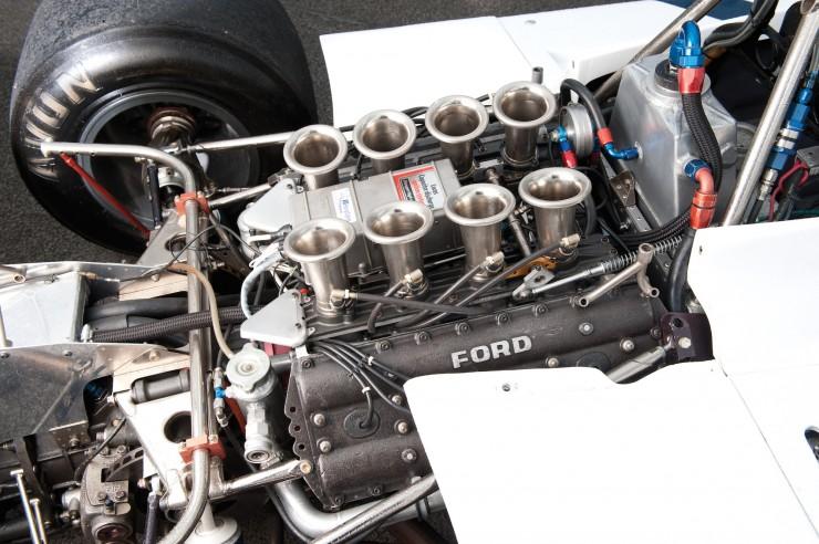 1974 Hesketh 308 Formula One James Hunt 10