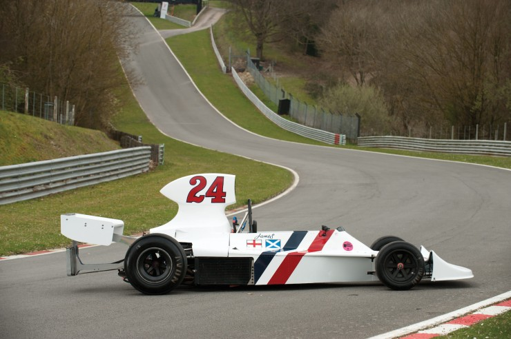1974 Hesketh 308 Formula One James Hunt 4
