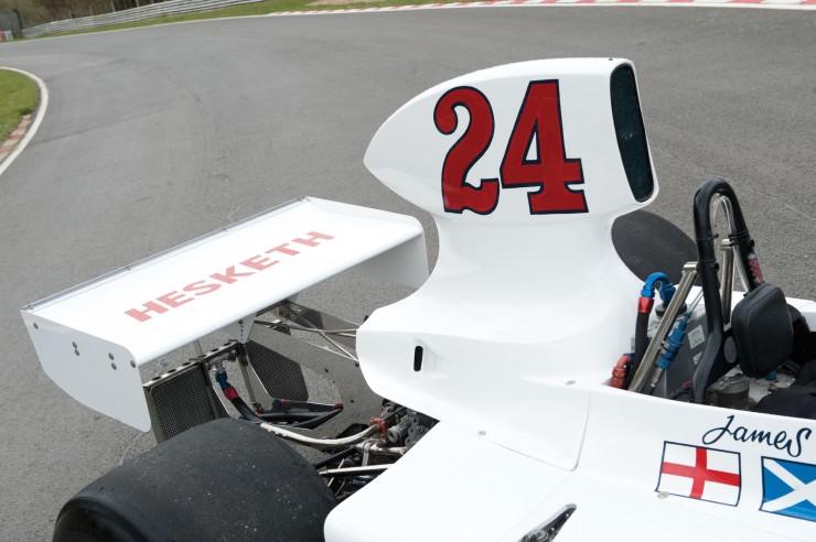 1974 Hesketh 308 Formula One James Hunt 5