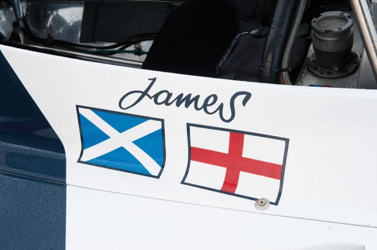 1974 Hesketh 308 Formula One James Hunt 6