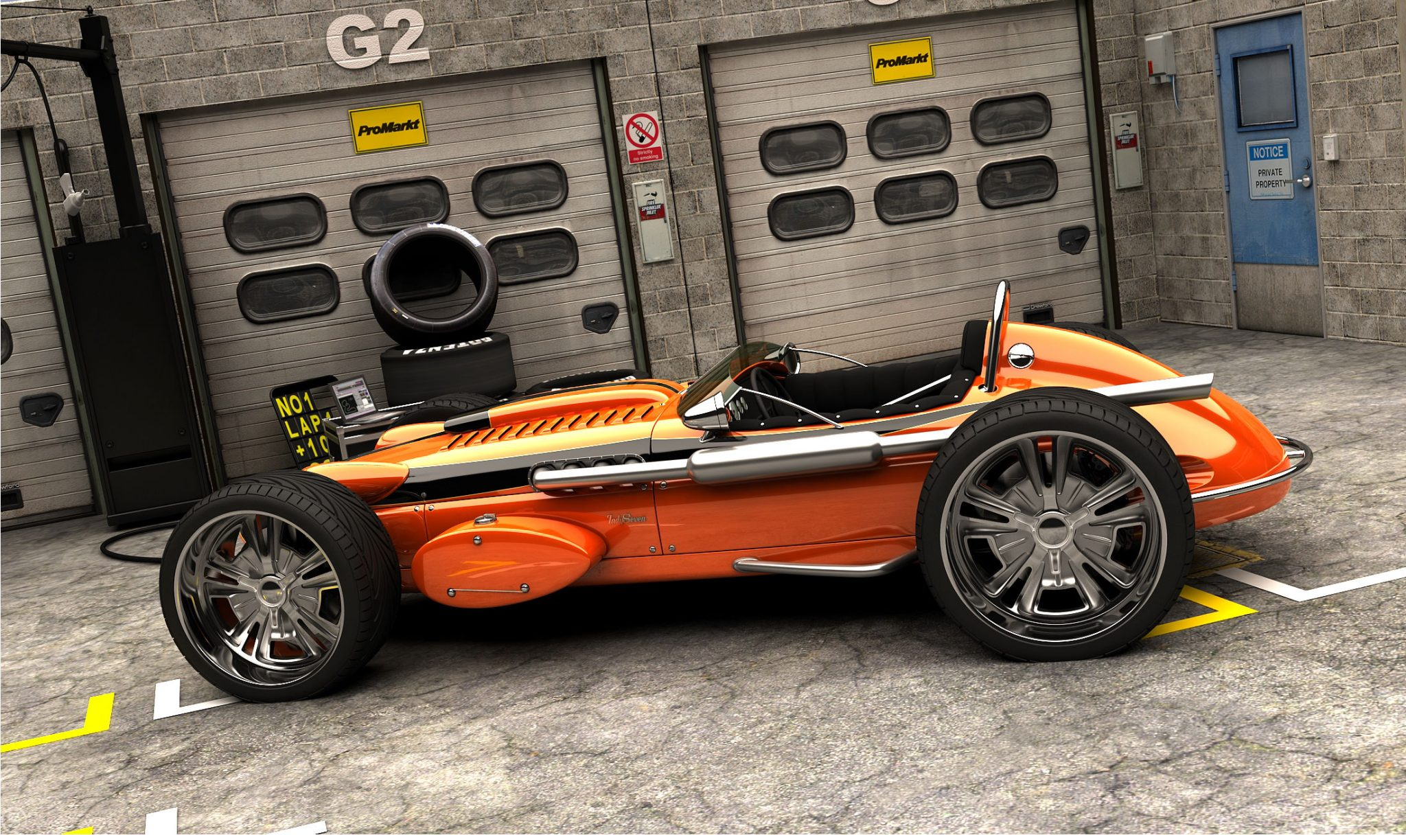 Caterham 7 Indy Custom