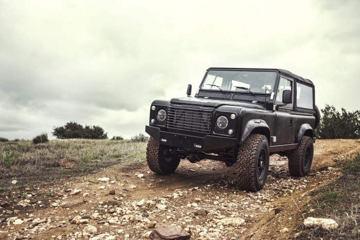 Land Rover D90 Custom 9