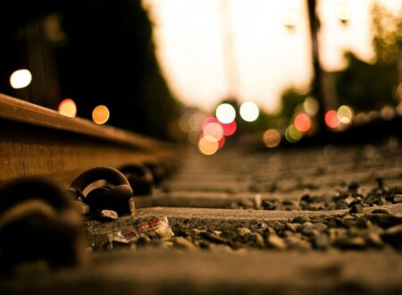 Railroad Tracks Wallpaper
