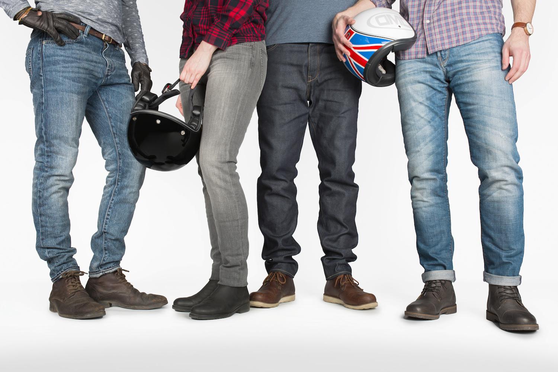 Kevlar Motorcycle Jeans Slim Fit