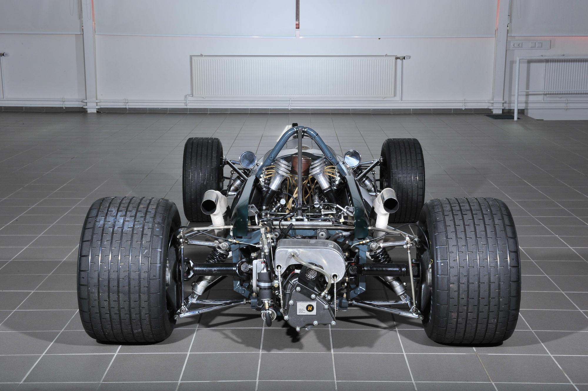 1966 Brabham-Repco BT20 Formula 1 Car