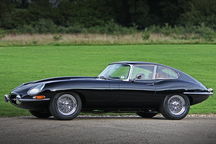 e-type jaguar coupe 1