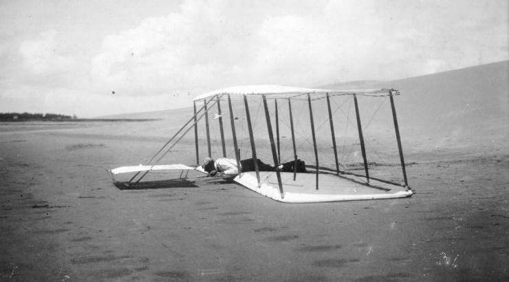 1901 Wright Glider design