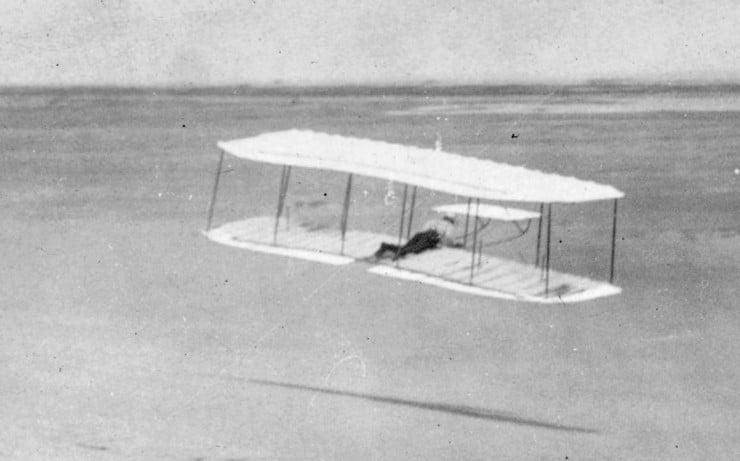 1901 Wright Glider flight