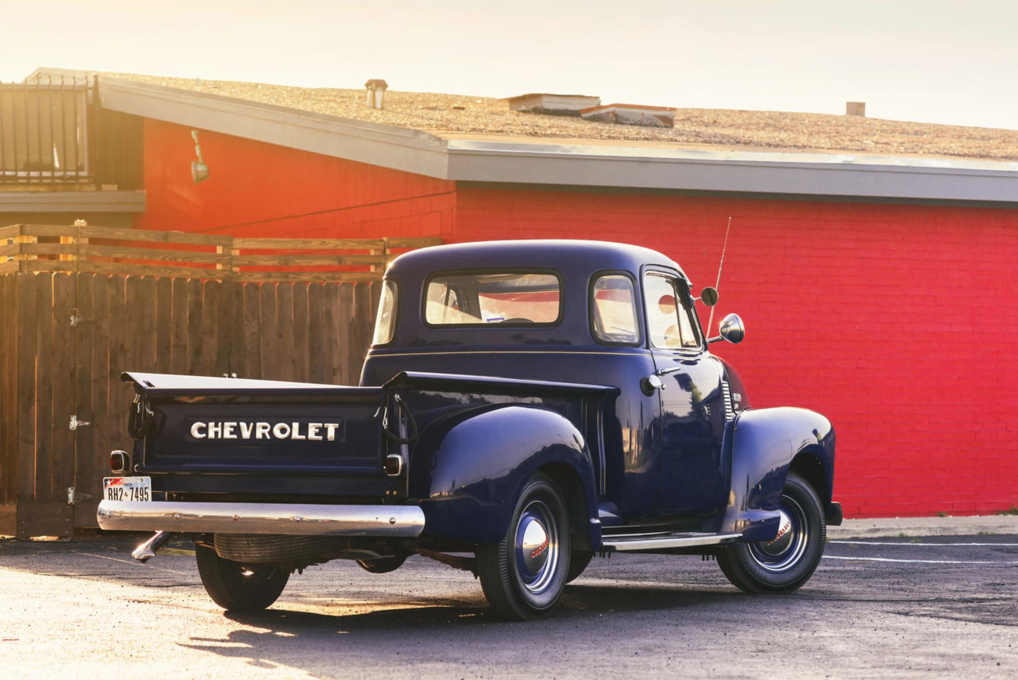 Used Chevy Trucks >> 1951 Chevrolet 3100 Pickup