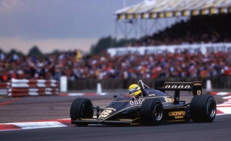 97T Senna Silverstone