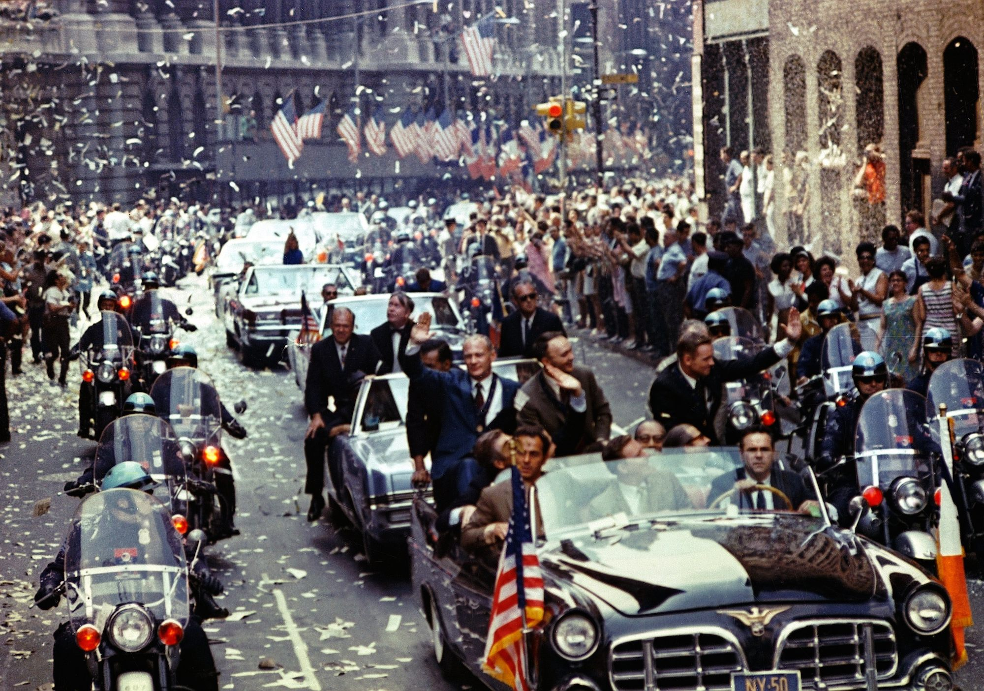 Apollo 11 Parade ticker tape
