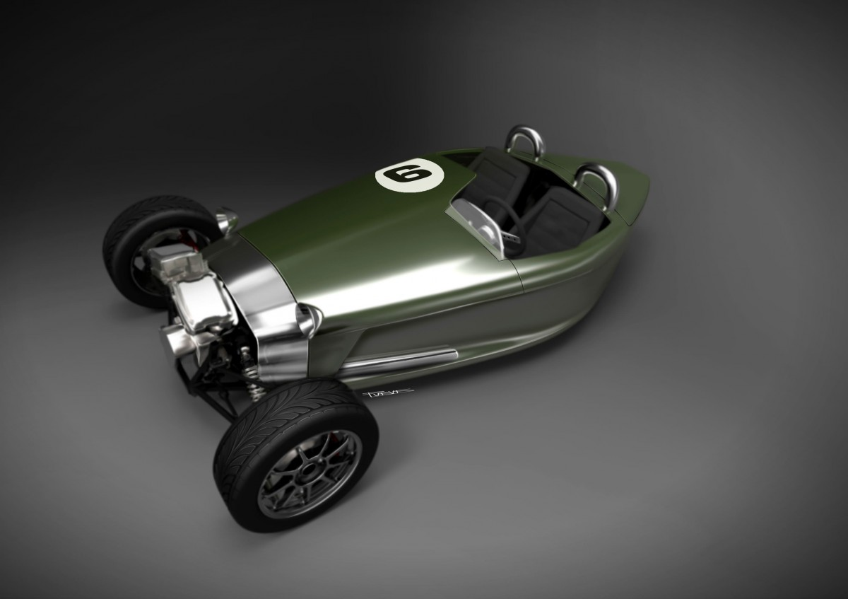 The Three Wheeler By Castle Three