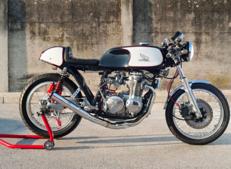 Honda CB550 Cafe Racer 7 450x330 - A Classic Honda CB550 Cafe Racer