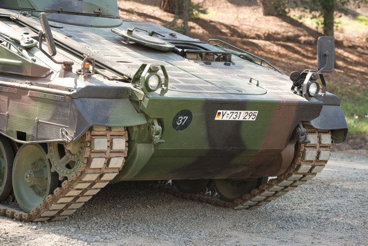Marder 1A3 Infantry Fighting Vehicle 3