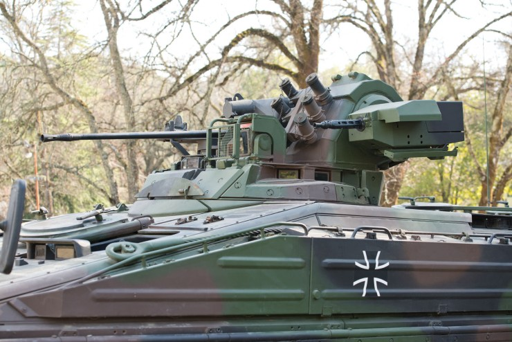 Marder 1A3 Infantry Fighting Vehicle 4