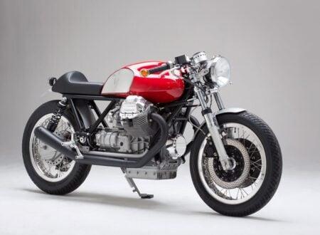 Moto Guzzi motorcycle 450x330 - Moto Guzzi Cafe Racer by Kaffeemaschine