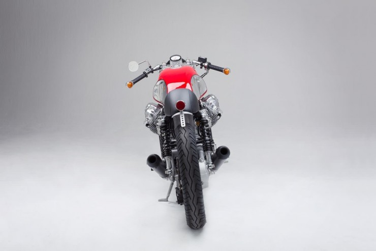 Moto Guzzi rear end
