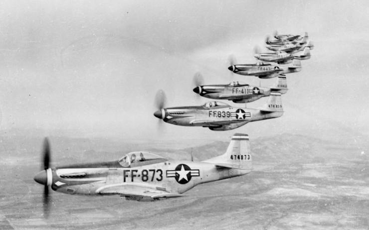 North American P-51 Mustang Wallpaper
