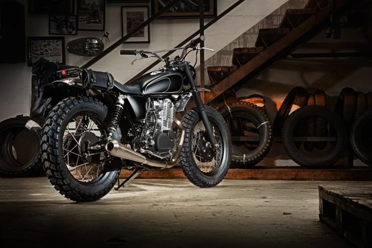 SR400 Custom Motorcycle