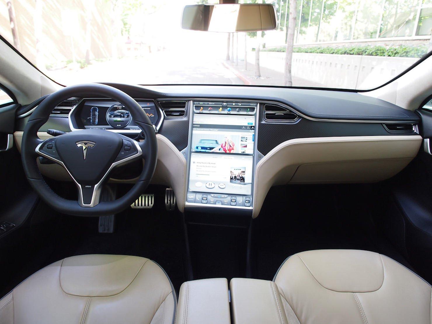 Tesla model s ebay giveaway for Tesla model s interieur