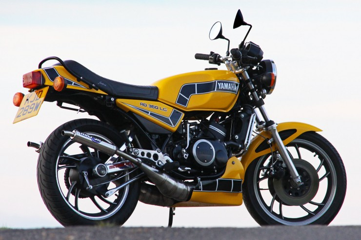 Yamaha RD350 LC 1