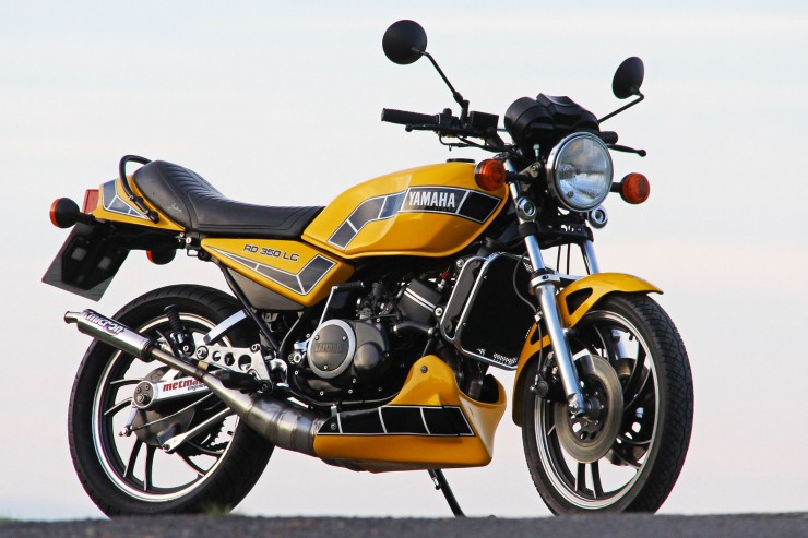 Yamaha RD350 LC 2