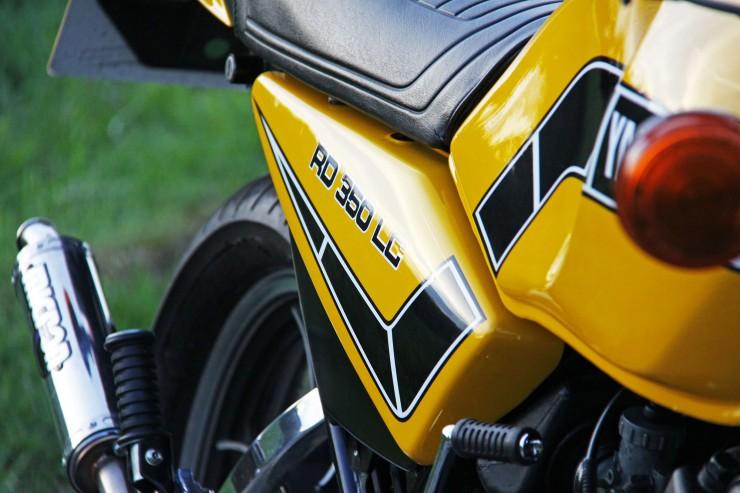Yamaha RD350 LC 8