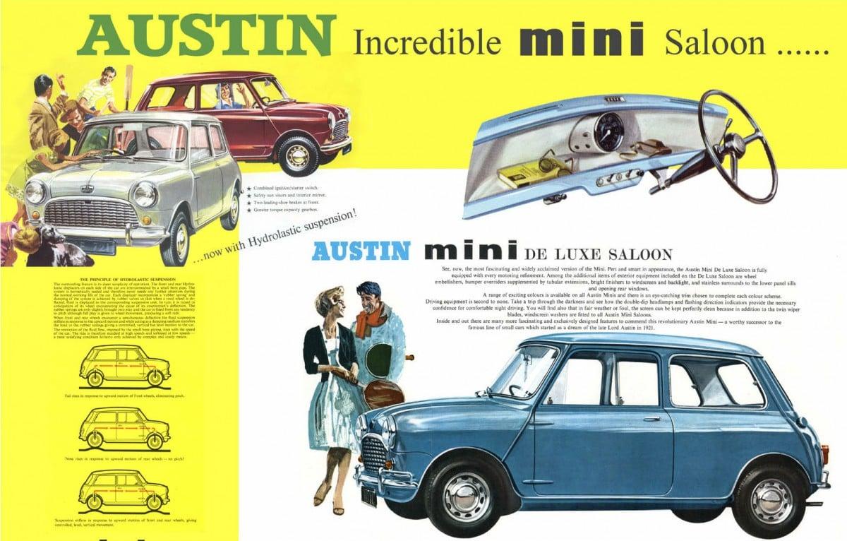 Austin Mini Saloon Poster Thumbnail 1200x766 - Austin Mini Saloon Poster
