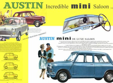 Austin Mini Saloon Poster Thumbnail 450x330 - Austin Mini Saloon Poster