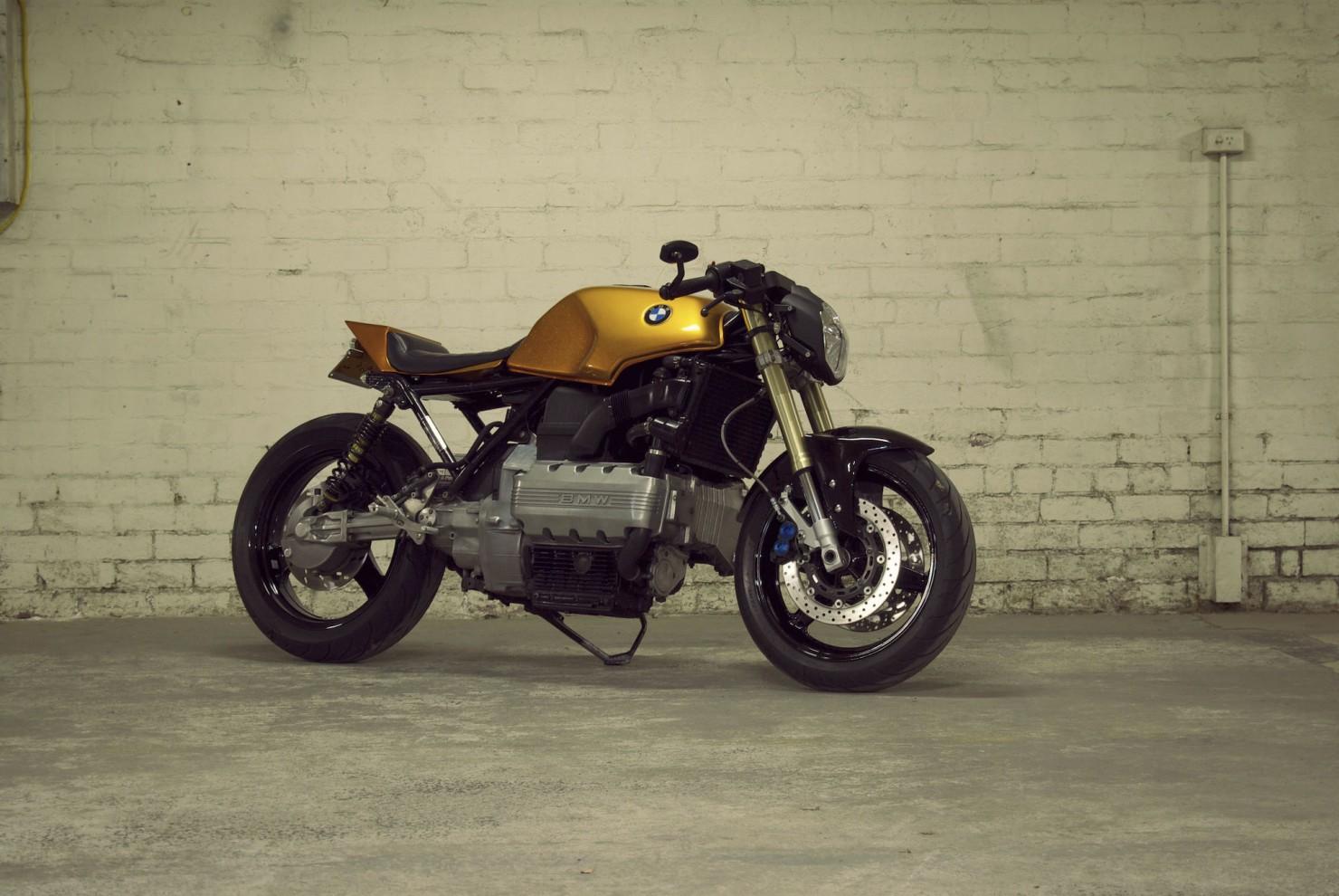 BMW K100 Motorcycle 9