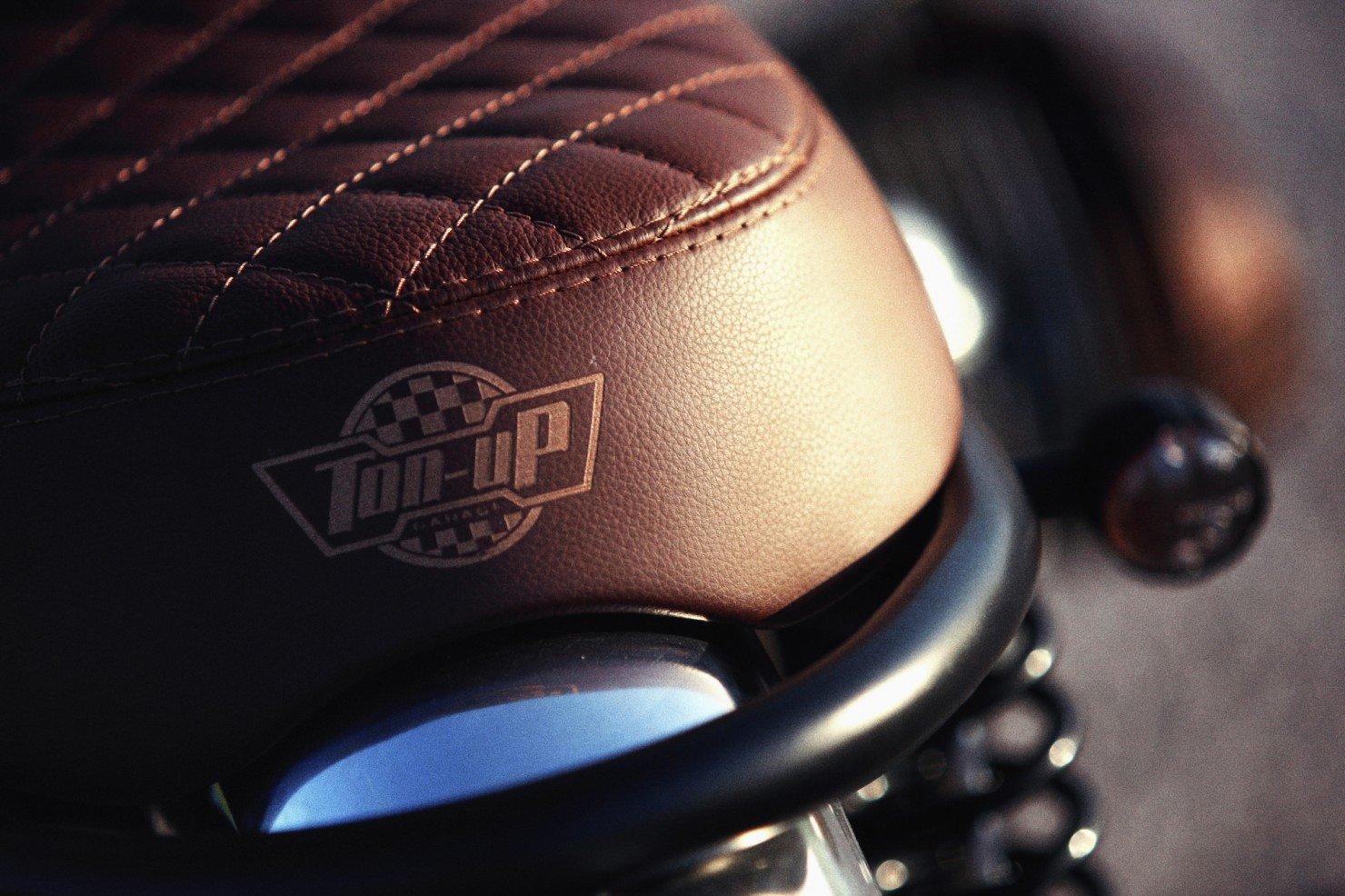 BMW R45 Custom Motorcycle 10