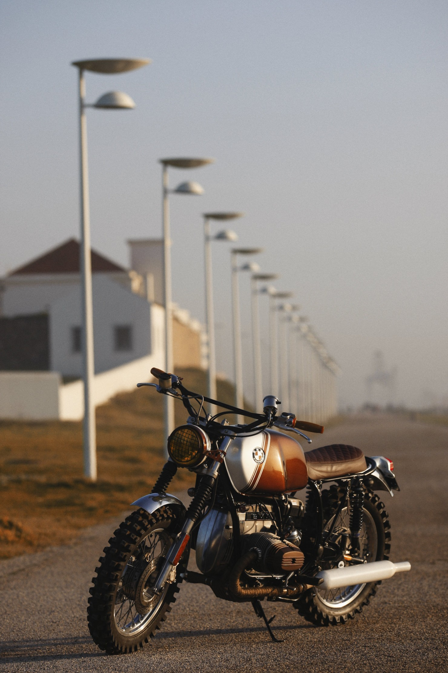 BMW R45 Custom Motorcycle 12