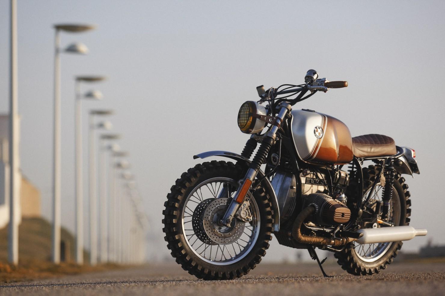 BMW R45 Custom Motorcycle 13
