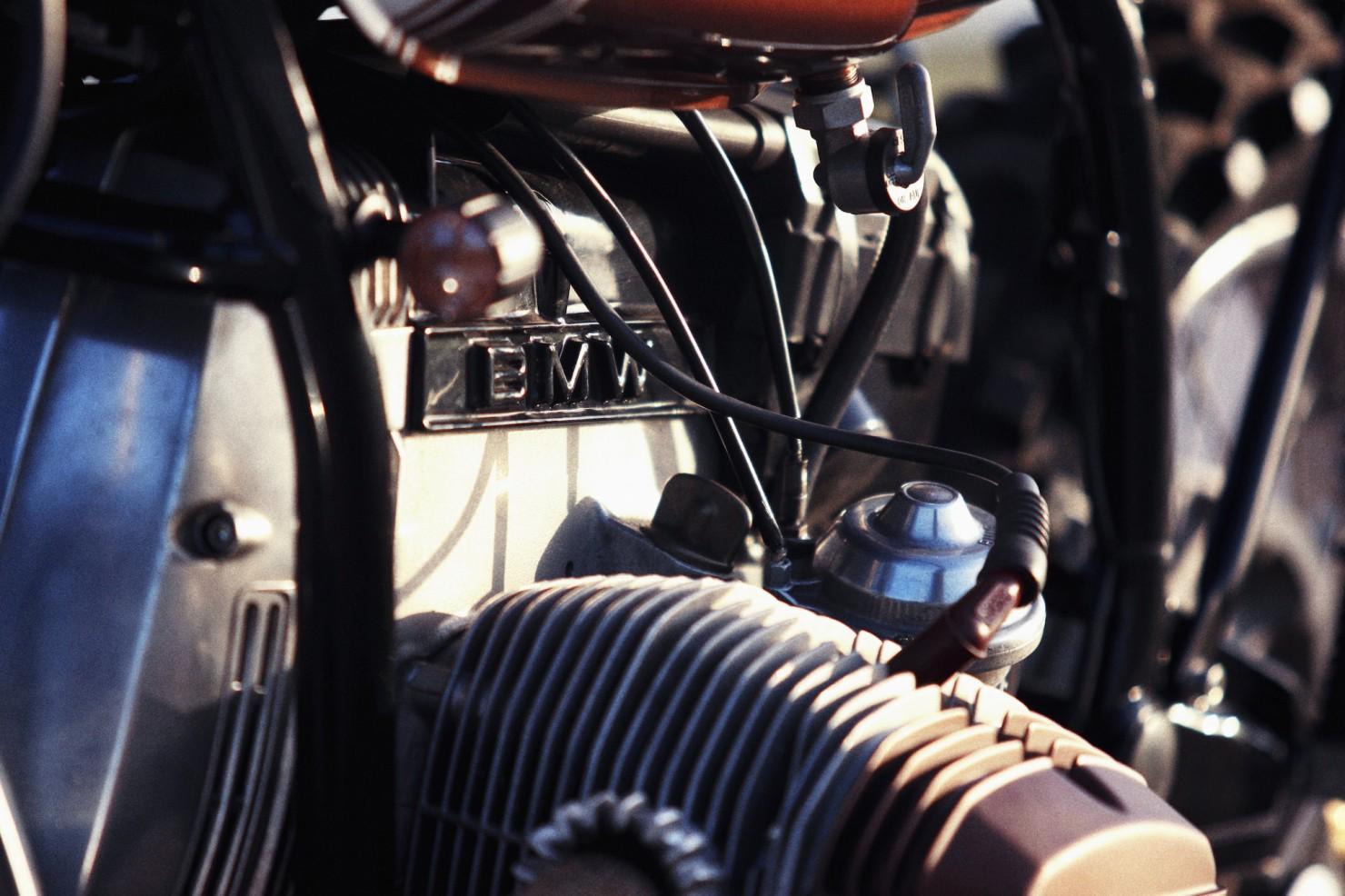 BMW R45 Custom Motorcycle 15