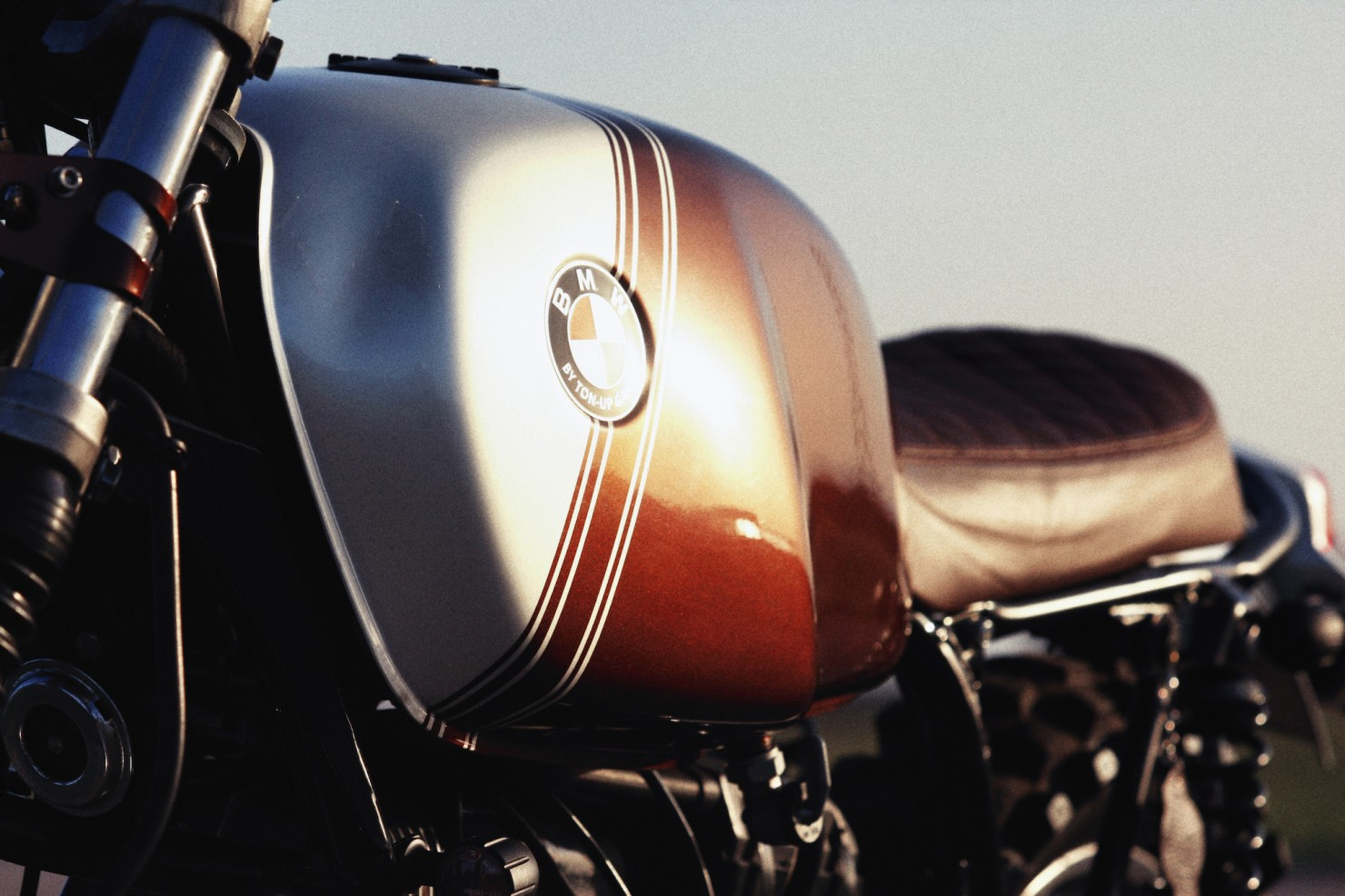 BMW R45 Custom Motorcycle 16