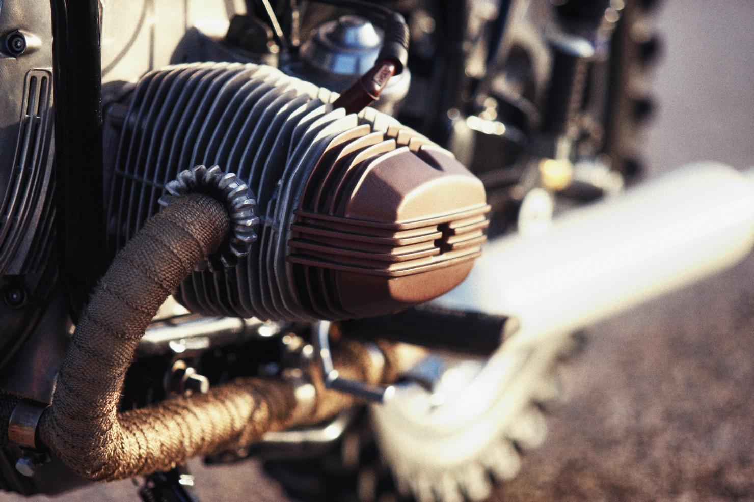 BMW R45 Custom Motorcycle 17