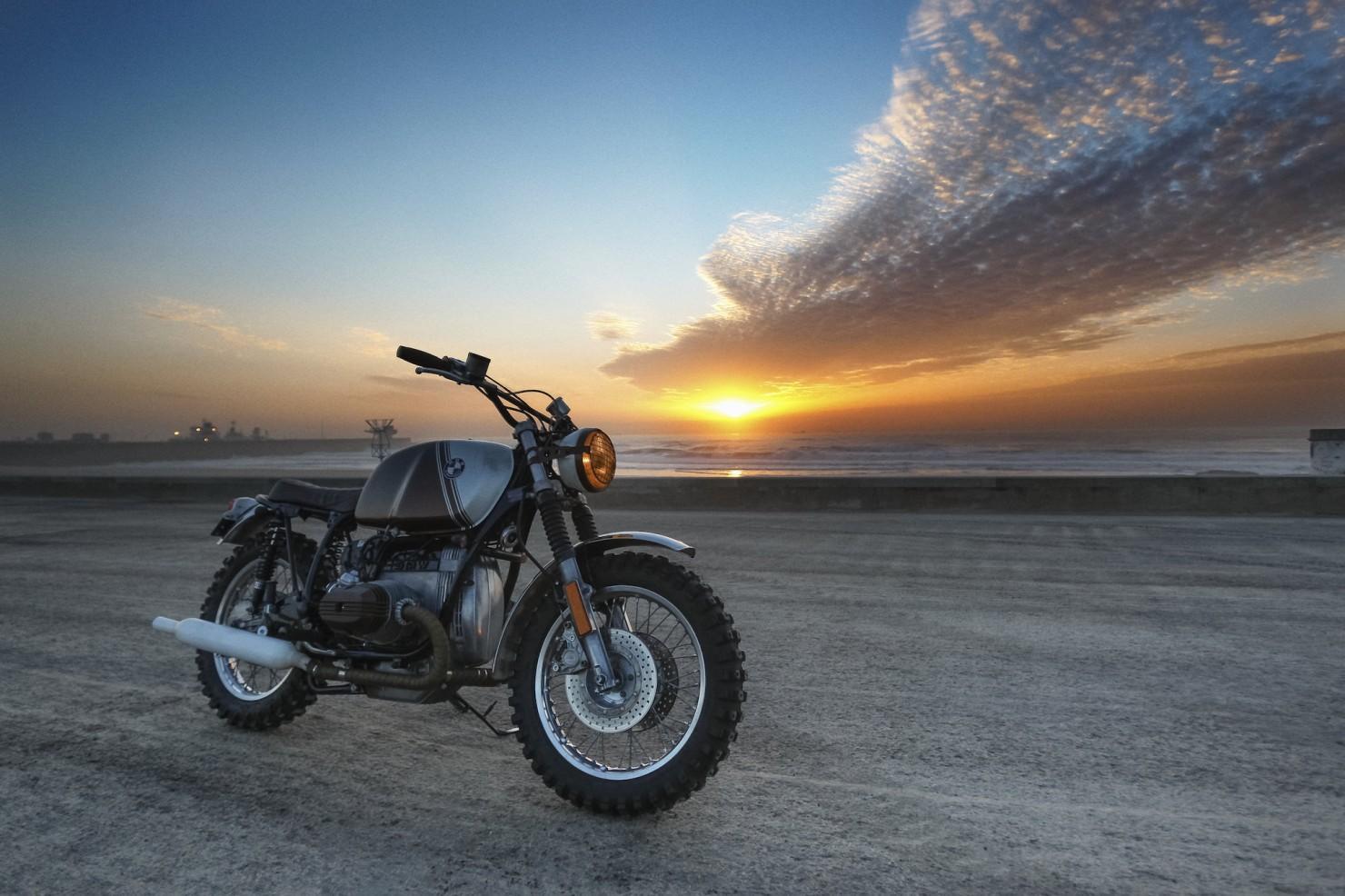 BMW R45 Custom Motorcycle 22