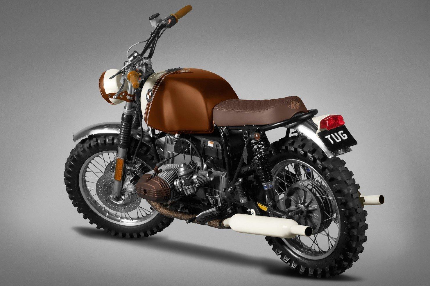 BMW R45 Custom Motorcycle 3