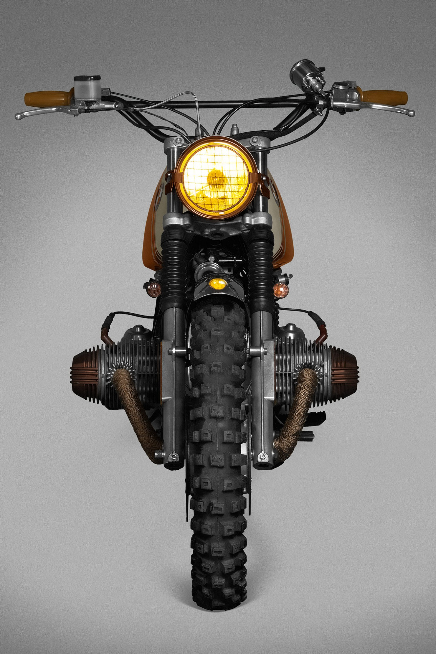 BMW R45 Custom Motorcycle 4
