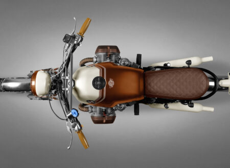 BMW R45 Custom Motorcycle 5
