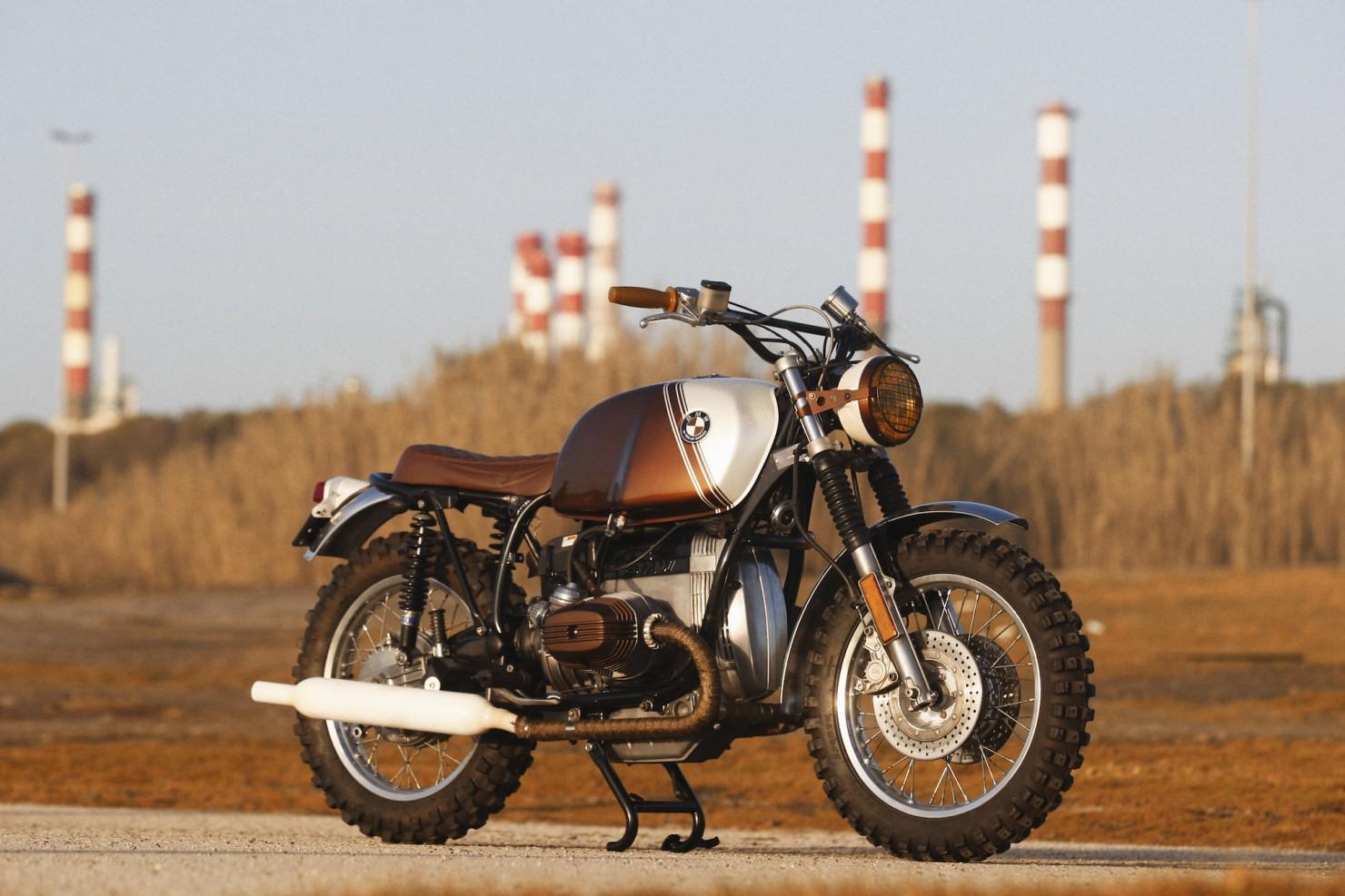 BMW R45 Custom Motorcycle 7