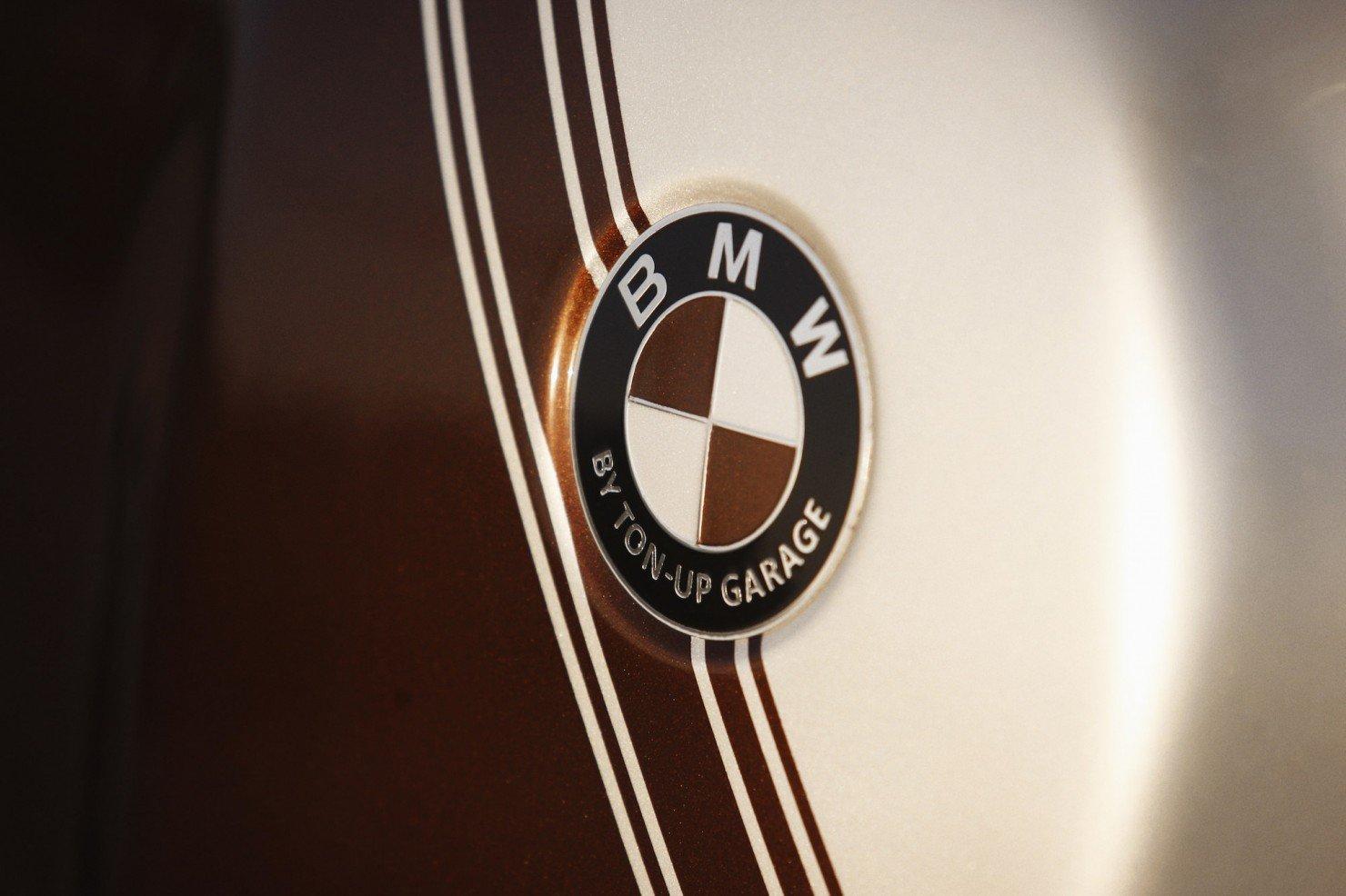 BMW R45 Custom Motorcycle 8