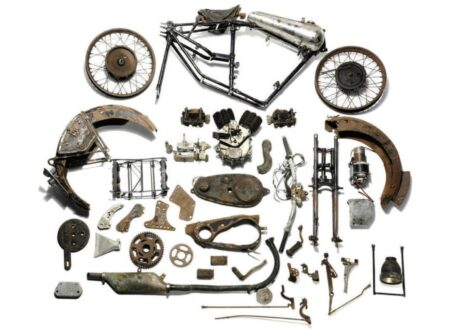 Brough Superior Overhead 6801 450x330 - 1928/31 Brough Superior 680 Project
