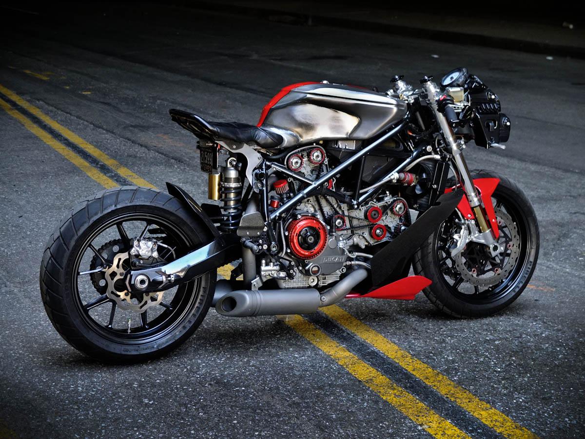 Moto Terminator Ducati